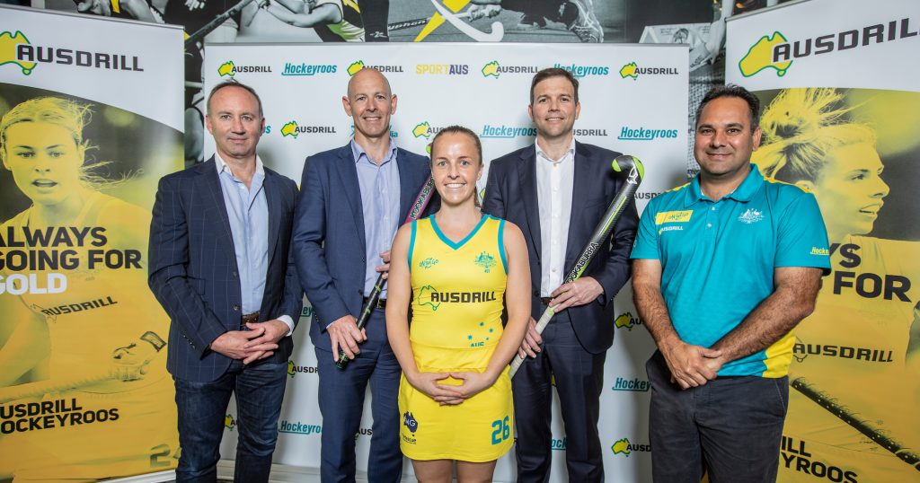 Ten up as Ausdrill renews as Hockeyroos' Naming Rights Partner • C3A8271