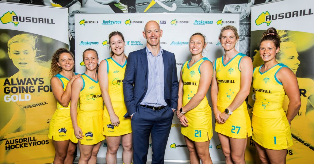 Ten up as Ausdrill renews as Hockeyroos' Naming Rights Partner • C3A8287
