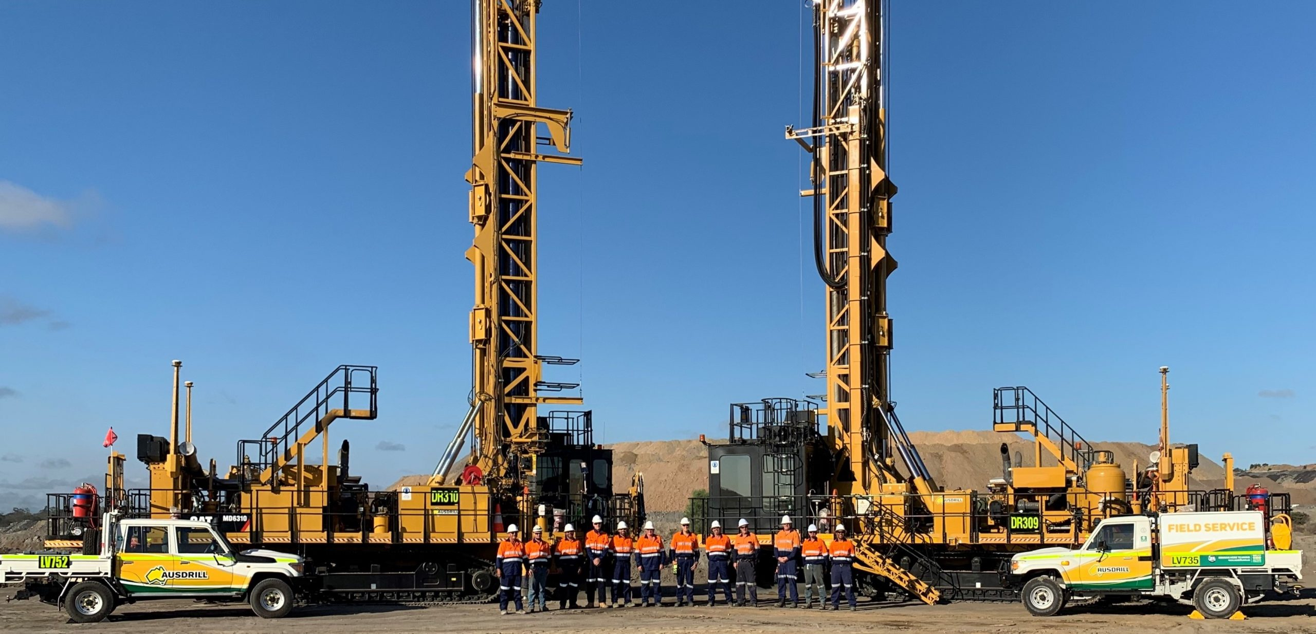 Ausdrill has been awarded $79m in new contracts for a range of exploration and production drill & blast works • 386 Ausdrill Middlemount Team Contract Commencement Jan 2020 Copy scaled
