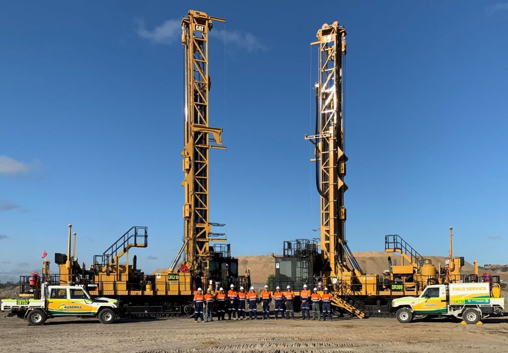 Ausdrill has been awarded $79m in new contracts for a range of exploration and production drill & blast works • Ausdrill Middlemount Project January 2020